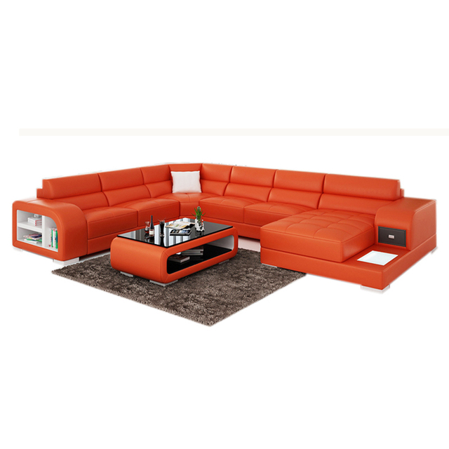 modern cheap price of corner sofa cum bed with storage-in Living ...