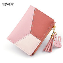 Women Wallets Small Fashion Brand Leather Purse Ladies Card Bag walet Women Clutch Women Female Purse Money Clip Wallets 271