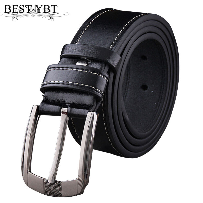 Dynamic Automatic Buckle Split Leather Men Casual Belts Black Blue Brown Crocodile Belt For Men High Quality Ceintures Homme Back To Search Resultsapparel Accessories