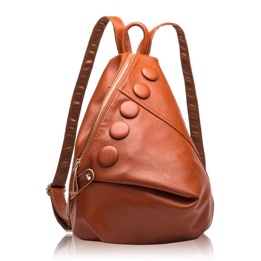 2019 sacs à dos en cuir véritable femmes Designer sacs en cuir dames marque de luxe sac à dos femme haute capacité Bolsa Feminina nouveau