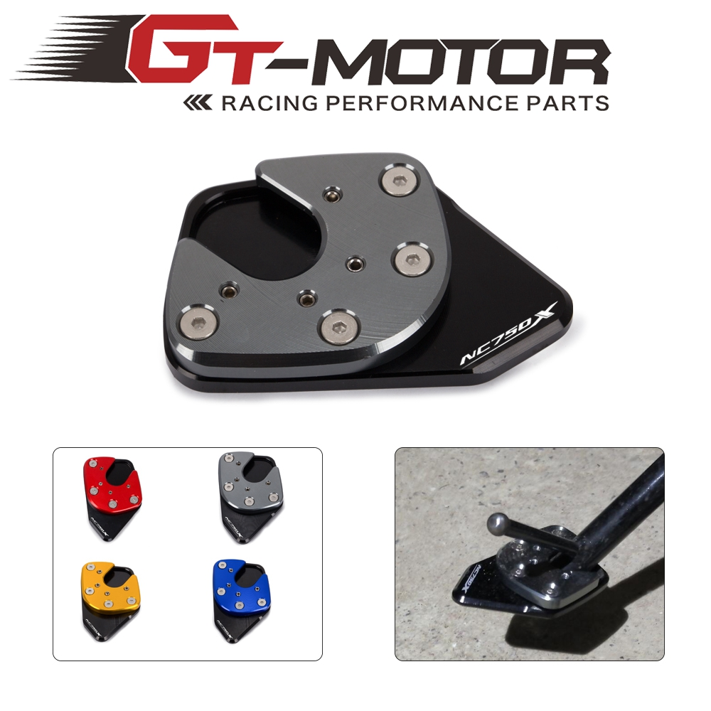 Motorcycle Kickstand Side Stand Extension Plate Foot Pad Support Enlarge For HONDA NC750X NC 750X NC 750 X 2017 2018 2019