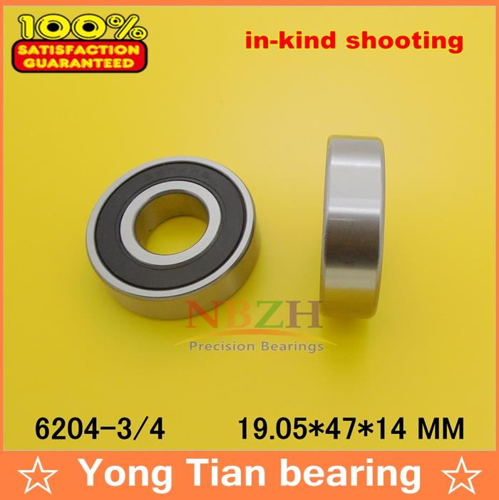 5 PCS  High quality  ABEC-3 Z2V1 6204/19.05 non-standard special bearings  6204/12-2RS 6204 3/4 RS1 19.05*47*14 mm цена 2017