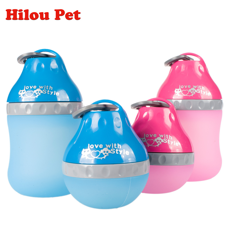Outdoor Portable Supplies Cat Dog Water Drinker Fountains Water Drop Silicone Candy Colors