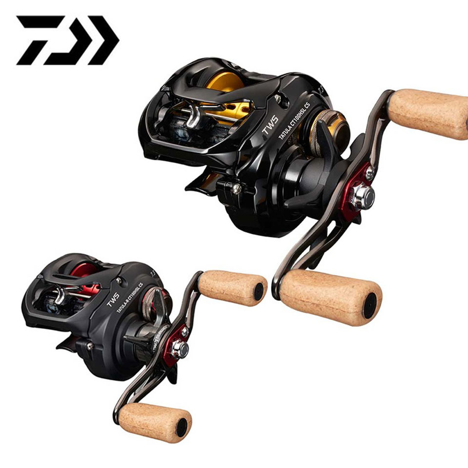 DAIWA TATULA CT/TYPE-R CT Baitcasting reel 6.3:1/7.3:1 6KG Power TWS system 7BB+1RB CORROSION RESISTANT BALL BEARINGS
