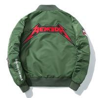 Autumn New Letter Badge Baseball Jacket Men Women Bomber Jacket Fashion Casual Zipper Harajuku Coat Classic Youth Streetwear