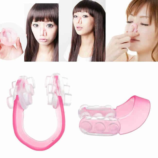 Novo lote de bela nariz para cima silicone beleza clipe de levantamento shaping clipper sem dor 1 pc