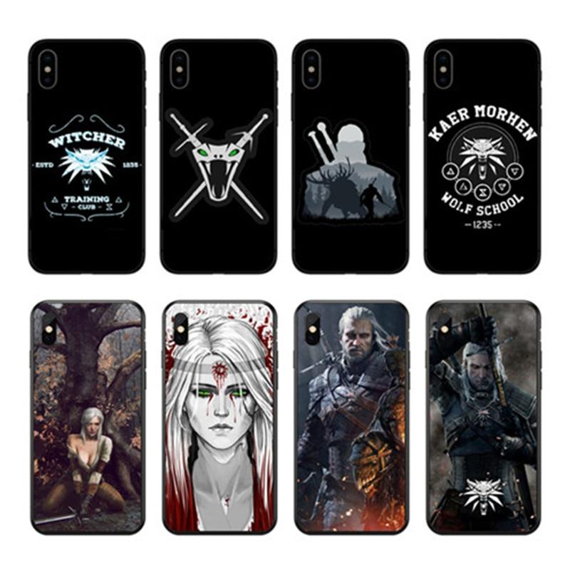 coque iphone 8 witcher 3