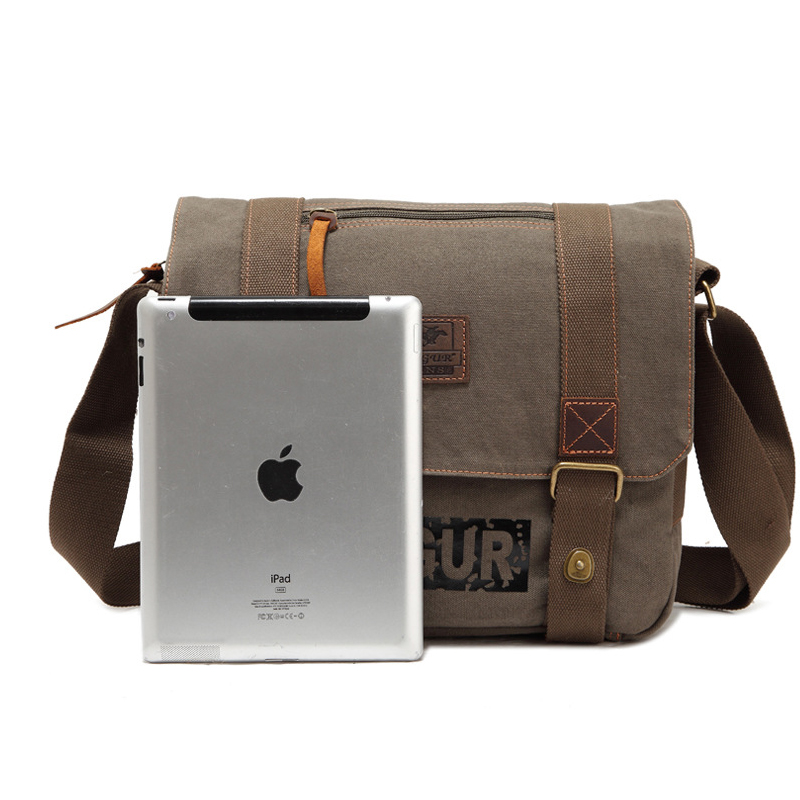 Messenger Bags  Canvas Shoulder Bags Male Army Military Crossbody Tote Bag Casual Traval Bag