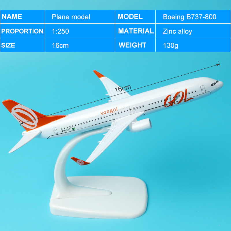 1:400 Alloy Simulation  Plane Model Toys A380 A320 B757 A330 B777 16cmAircraft Airplane Model  For Display For Kids  Baby Gift