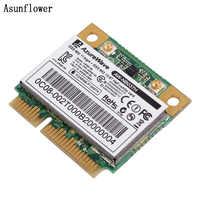 Nouvelle AZUREWAVE AW-NB037H 802.11nbg + Bluetooth 300Mbps Mini carte PCI-E ordinateur portable sans fil carte Wifi
