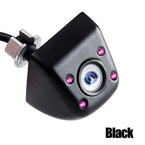 Hipppcron Автомобильная камера заднего вида 4 светодиодный монитор ночного видения заднего вида Авто парковочный монитор CCD водонепроницаемый 170 градусов HD видео - Название цвета: 104 Infrared Black