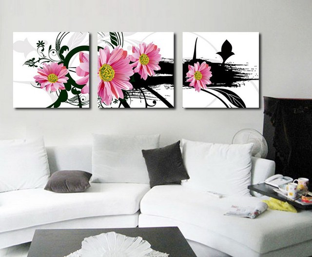 Wall Decoration For Dining Room Print Painting Home Decoration Modern Print  On Canvas 3 Pcs/