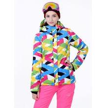 2015 New Winter Women Ski Suit Sets Windproof Waterproof Ski Jacket+Pants Warm Thicken Breathable Clothes Pants Set