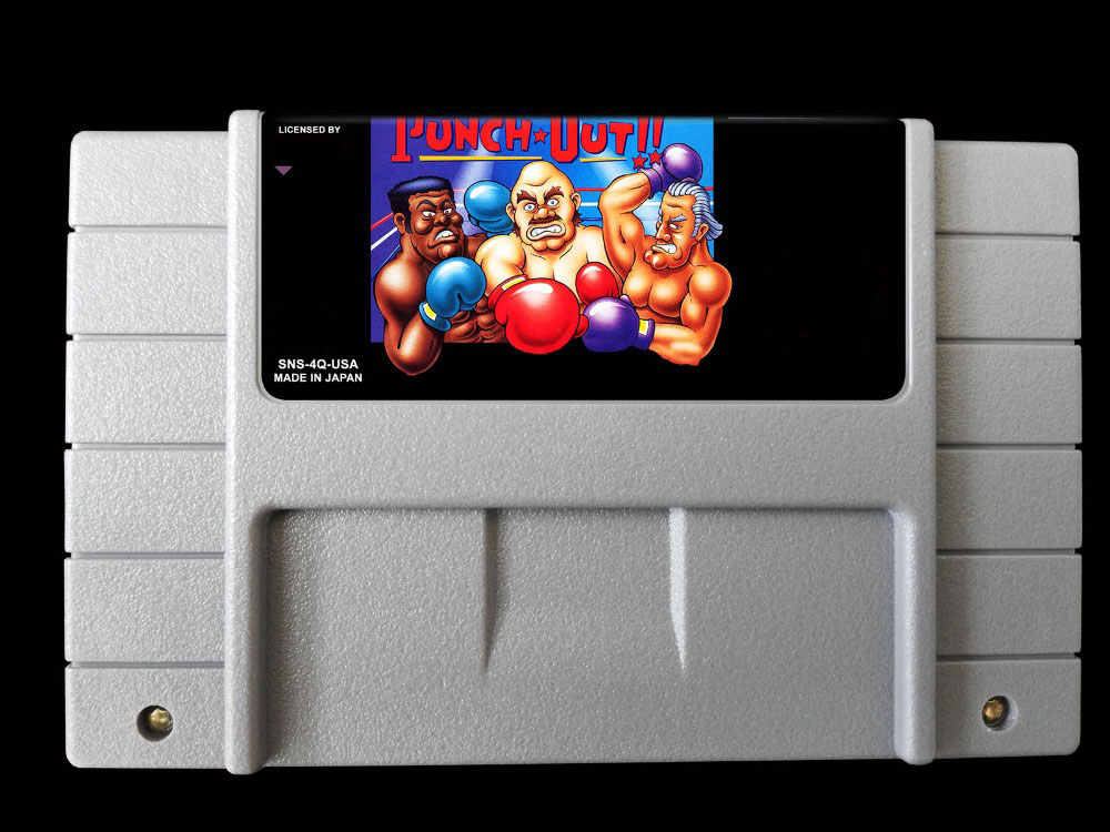 16Bit Games ** Super Punch Out!! ( USA Version!! ) title=