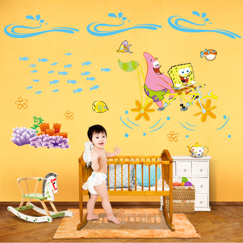 Popularne Spongebob Wall Decals Kupuj Tanie Spongebob Wall Decals - Spongebob room decals