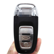 Brand New 3Buttons 433Mhz 8T0 959 754 C Keyless Entry Smart Remote Key Fob Case Used for Audi A4L Q5 with Logo