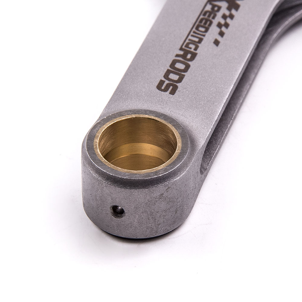 Image 5 - Connecting Rods 128.5mm for Fiat Punto GT 1.4 1.6L Turbo 4340 Steel H Beam Conrod Rod Balanced Shot Peen Cranks EN24 4 PiecesPistons, Rings, Rods & Parts   -