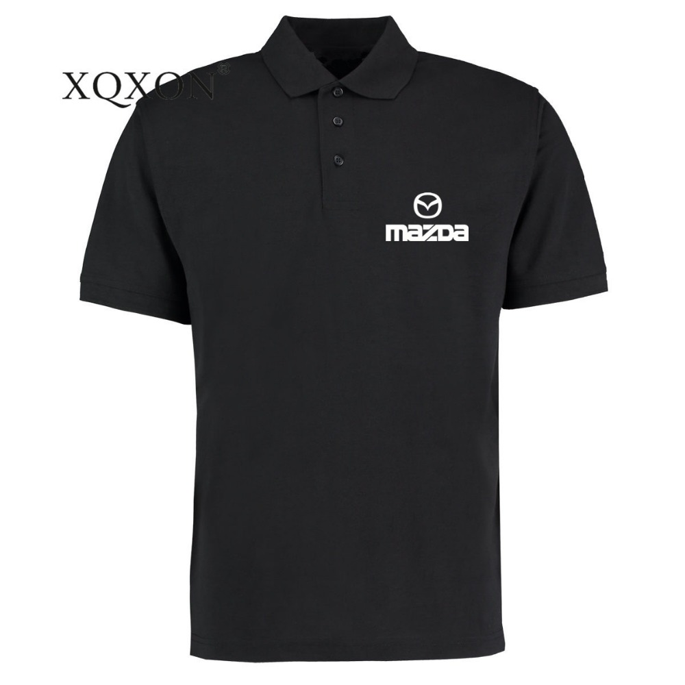 In Xqxon-2019 New Men Polo Shirt Funny Mazda Printed Man Short Sleeve Shirt Polo S-3xl R4 Superior Quality