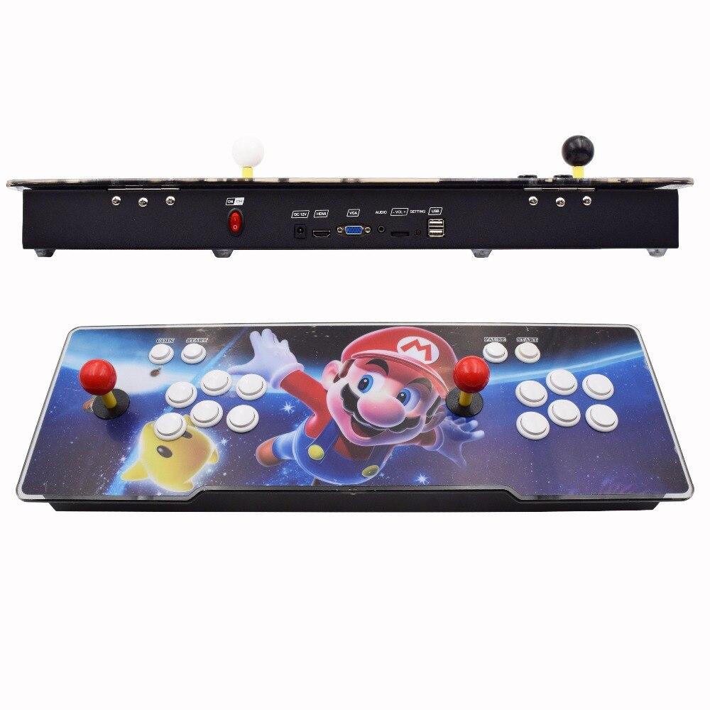 Boîte 6 S 1388 dans 1 jeu d'arcade Console pour TV PC PS3 Monitor Support HDMI VGA USB avec fonction de pause machine de jeu de type arcade