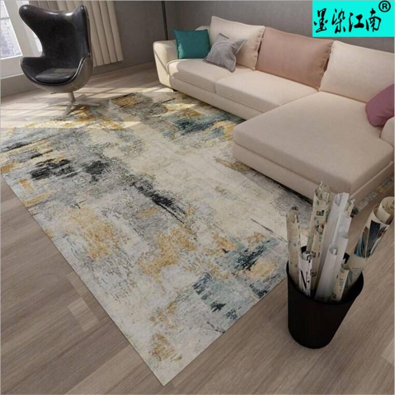 AOVOLL 2019 mode européenne tapis minimaliste dans le salon tapis et tapis pour la maison salon tapis chambre d'enfants - 3