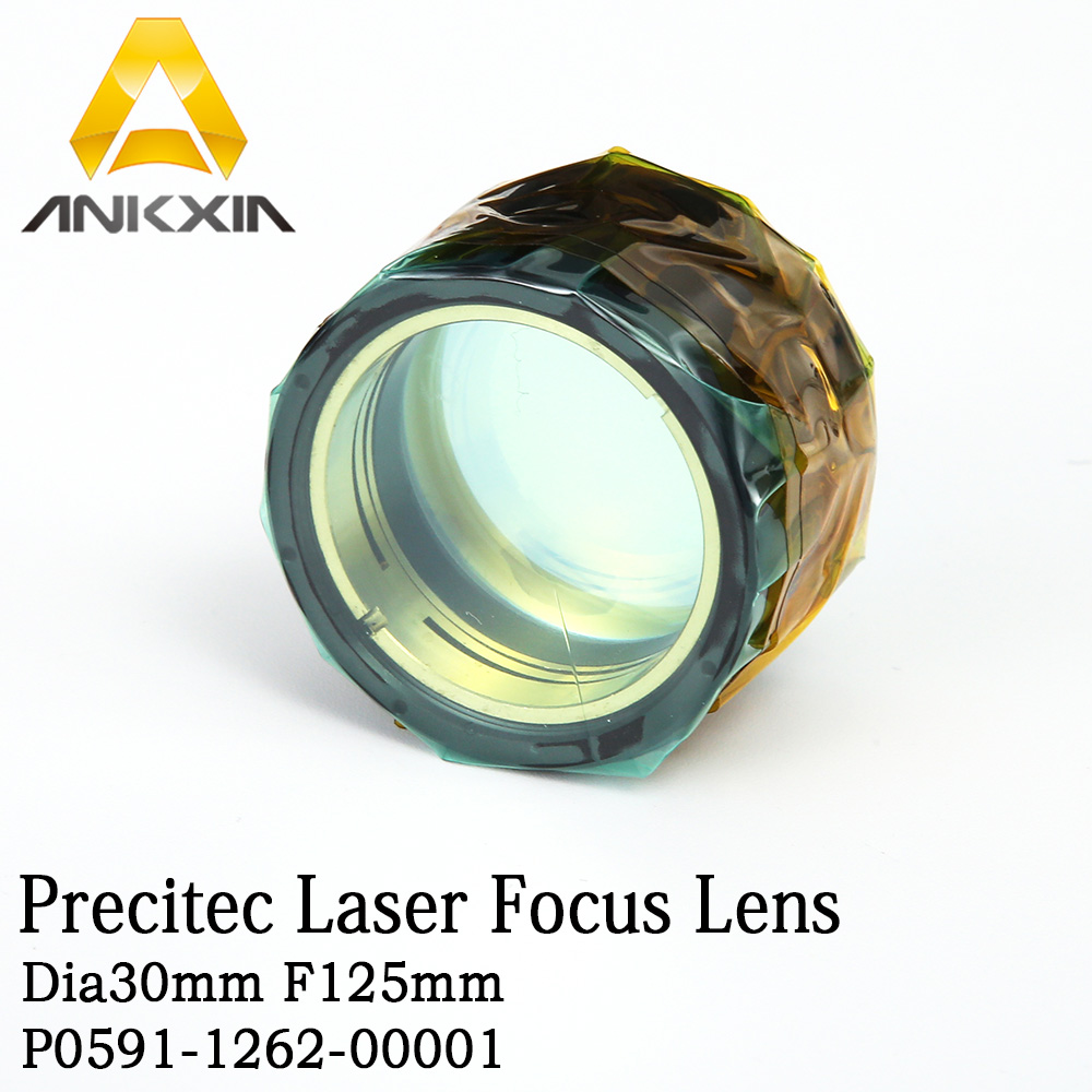 Objectif de mise au point de tête de découpe Laser à Fiber optique Precitec ZO HP SSL COL D30 F125 P0591-1262-00001 0-4000 W