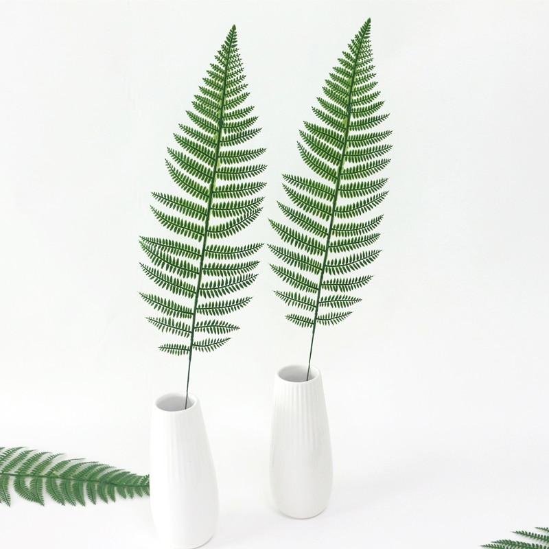 JAROWN Artificial Plants Fern Leaf Nordic Minimalist Style Decor Flower For Wedding Home Flower Arrangement DIY Accessories (16)