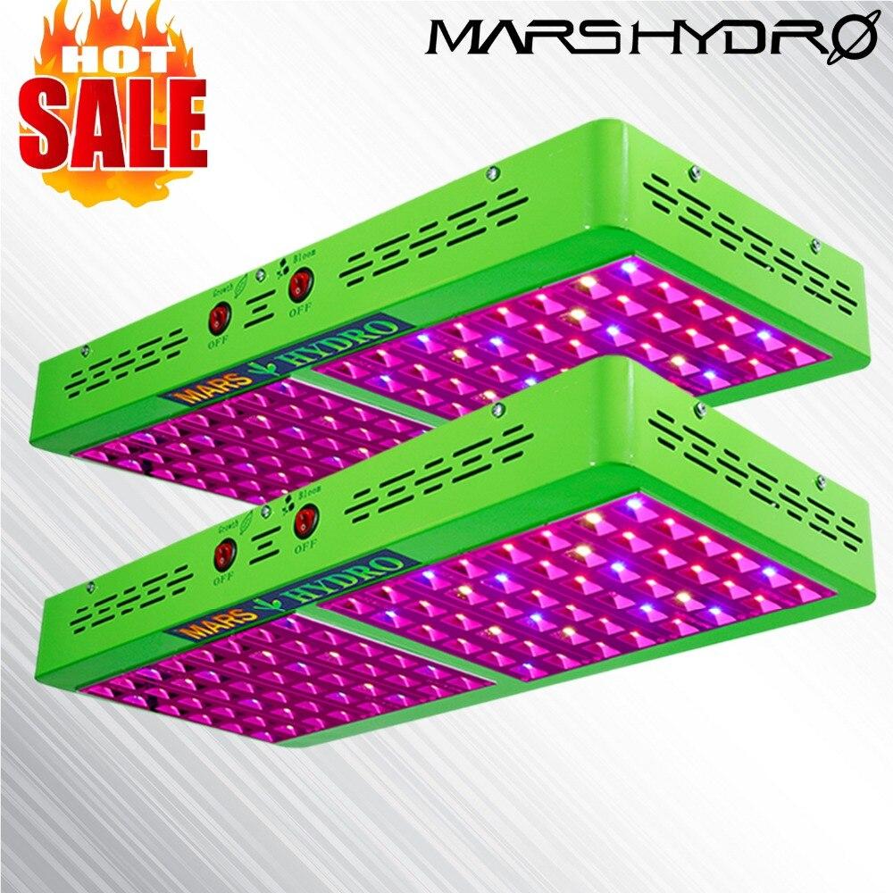 2 шт. Mars Hydro отражатель 480 W светодиодный светать лампы полного спектра Вег Цветок гидропоники завод комнатное Садоводство