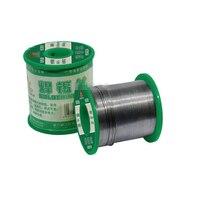 Yüksek Saflıkta Kurşun/Kalay Alaşım Lehim Teli 0.8mm 1.0mm 1.2mm 2% Akı Içeriği Katı Rosin çekirdek Kaynak Teli 250g, Uzunluk 5000