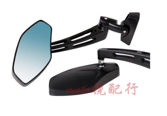 Refires roadster motorcycle rear view mirror aluminum rearview mirror side mirror sports car mirrors blue glass sportscenter