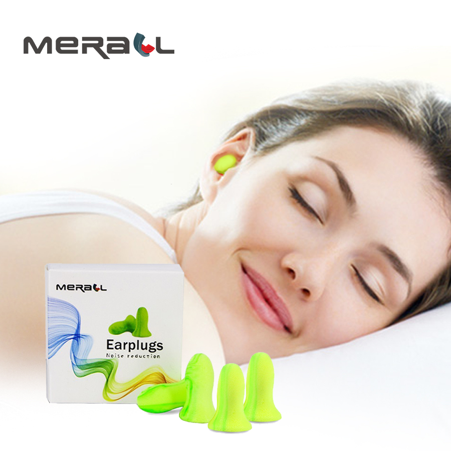 Sleeping Ear Plugs Noise Reduction Sound Insulation Soft Foam Earplugs For Sleep Anti-noise Travel Learn Workplace Sleeping Aid