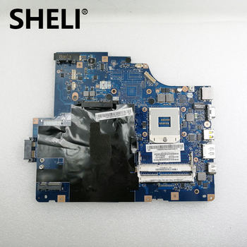 SHELI For Lenovo G560 laptop Motherboard NIWE2 LA-5752P 11S69034709 HM55 VRAM testing working
