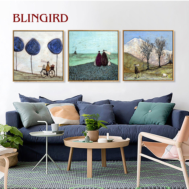 Aliexpress.com : Buy North European style paintings bedrooms ...