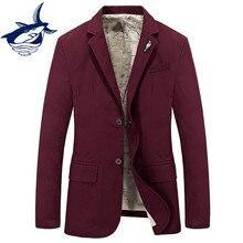 Tace & Shark brand casual blazer men Spring Autumn mens blazer jacket elegant cotton suit jacket blazer masculino slim fit