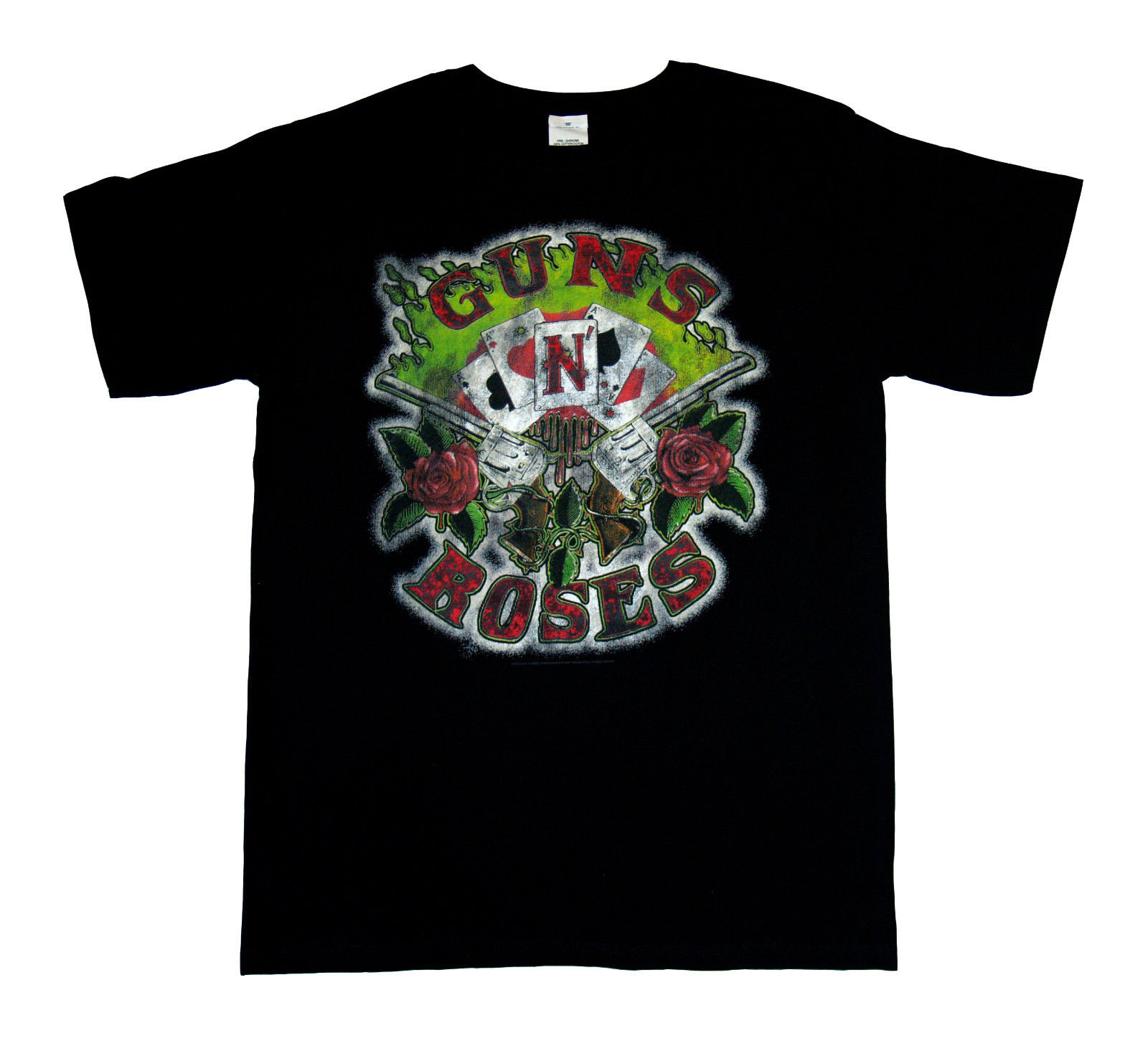 GUNS N ROSES - Cards - Official T SHIRT Sizes S-M-L-XL-2XL Brand New HardRock ...