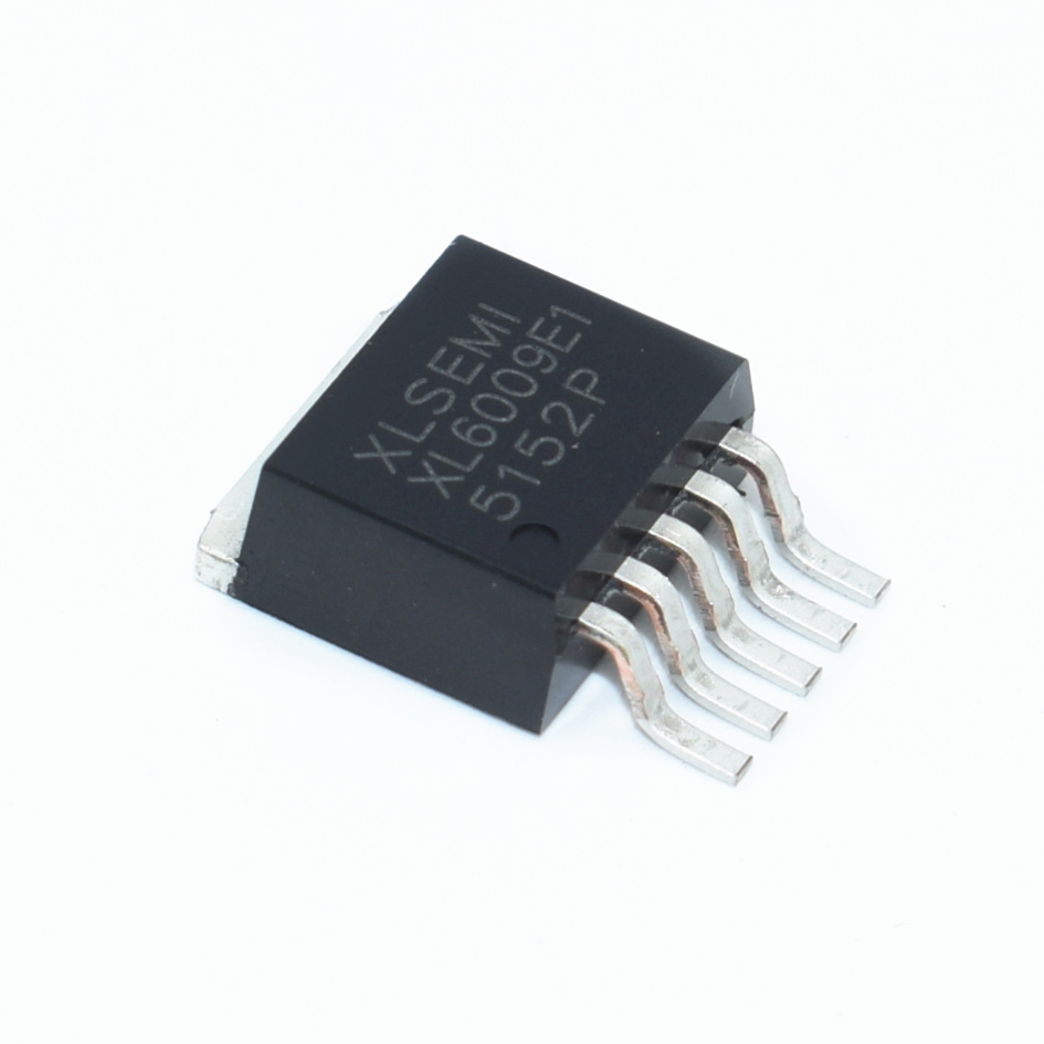 100pcs NEW XL6009E1 XL6009 DC DC Step up IC chip 42V 4A TO 263 5L
