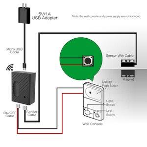 """Image 2 - WiFi Smart Switch Porta Del Garage Opener Controller Compatibile con Alexa, controllo Vocale di Google IFTTT Intelligente """"eWeLink"""" APP di controllo"""
