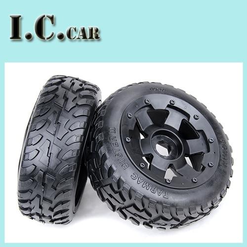 baja 5B second generation on road tire front wheel assembly set for 1 5 HPI Baja
