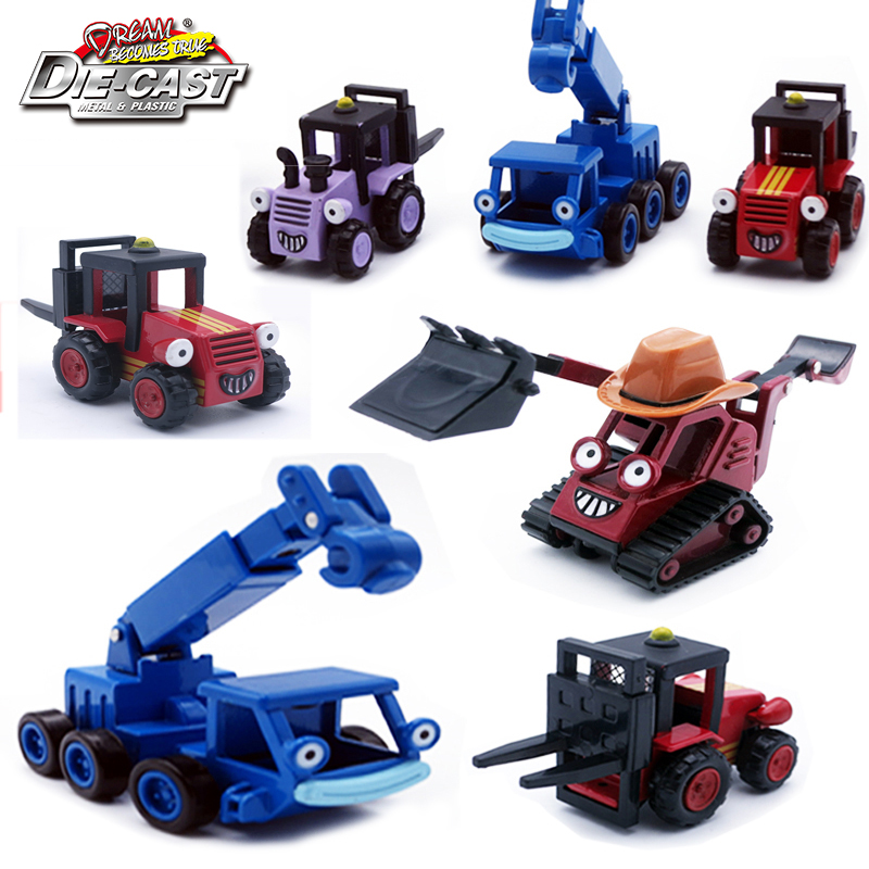 Diecast Model Of Bob The Builder Vehicles Metal Truck Toys Car For Children As Gift TRIX/Sumsy/Benny/Lofty