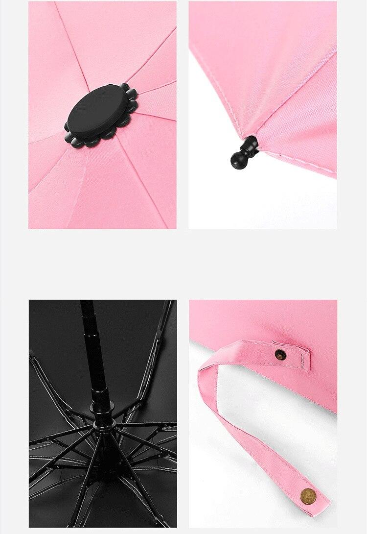 Mulheres Automáticas do Guarda-chuva uv Personalizado Encantos