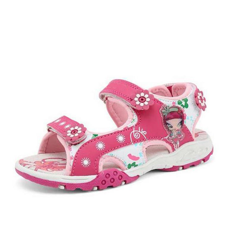 New Summer kids girl sandals princess girls sandals Antislip Sole Children Toddler Baby  ...