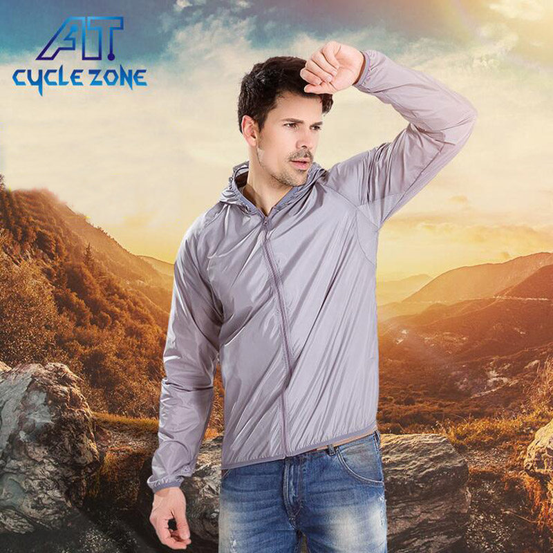 Cycle zone Ultra-light dry windbreaker waterproof breathable radiation protection equipment