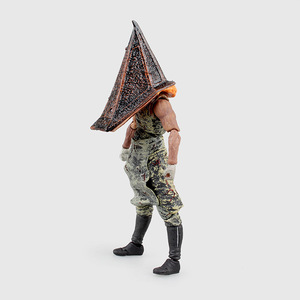 Image 4 - Hot Movie Game Figma SP 055 Red Pyramid Thing Pyramid Head Silent Hill 2 Action Figure 15CM