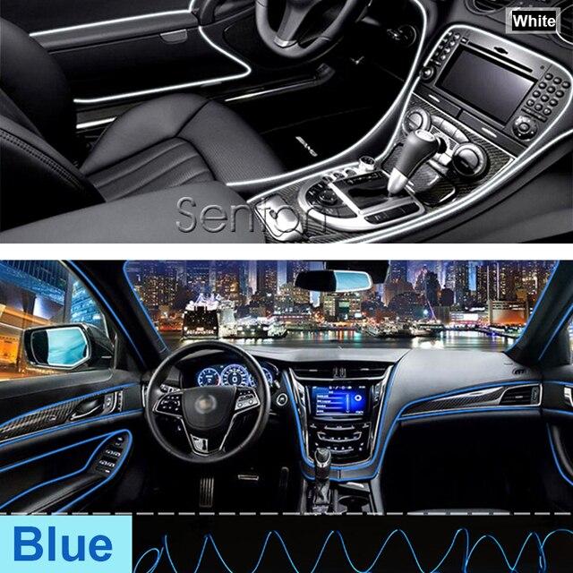 Car Interior Atmosphere Lights For Opel Astra H J G Insignia Mokka ...