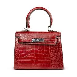 DUSUN Women's Bag Alligator Bags Anti-Theft Luxury Handbags High Quality Crocodile Designer Shoulder Female Messenger Women Bags