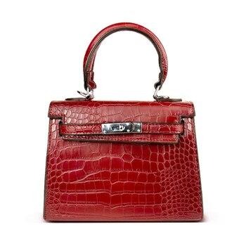 DUSUN las mujeres bolsa de bolsas de cocodrilo Anti-robo de lujo de alta calidad bolsos de diseñador hombro mujer mensajero bolsos de las mujeres
