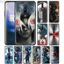 winter soldier captain america Phone Case for Oneplus 7 7Pro 6 6T Oneplus 7 Pro 6T Black Silicone Soft Case Cover