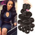 Wet And Wavy Human Hair Weave Brazilian Remy Hair Body Wave 100% Human Hair Weaving Guangzhou Ali Queen Hair Products