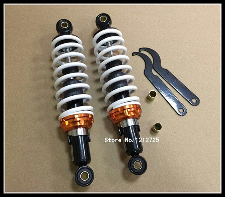 Distance de trou d'installation d'amortisseur arrière d'amortisseur de moto de Scooter 28 cm