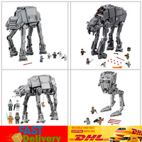Lepin 05050 05051 05052 05130 Clone 10178 75054 75153 75189 Star Wars AT AT Electric Remote Control Bricks Blocks Toy Gifts