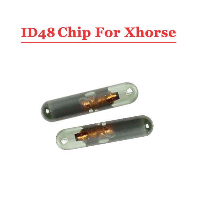 Free shipping(10pcs/lot)ID48 Chip for XHORSE VVDI2 48 Transponder Copier chip digital copier chip for riso com 7010 chip inkjet refill accessories free shipping